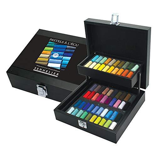 SENNELIER Wood Box Pastel Set
