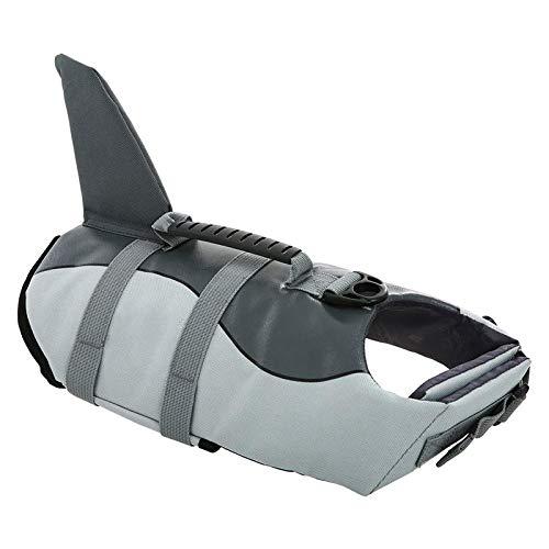 Monland Hai Stil Hunde Geschirr Schwimmen Schwimm Weste Bade Anzug Hund Schwimm Weste Sommer Kleidung für Hunde M