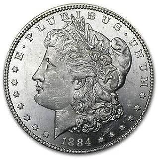1884 O Morgan Dollar BU $1 Brilliant Uncirculated