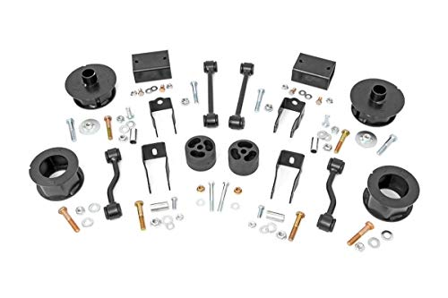 """Rough Country 2.5"""" Lift Kit compatible w/ 2018-2019 Jeep Wrangler JL Suspension System 67700"""