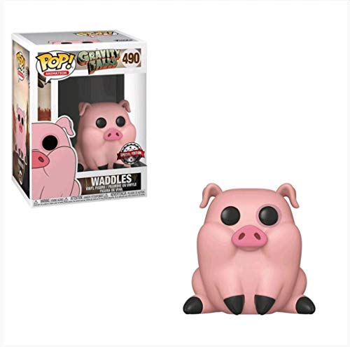 Funko Pop Animation : Gravity Falls - Waddles 3.75inch Vinyl Gift for Anime Fans SuperCollection