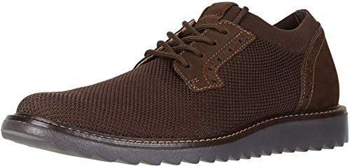 Dockers Mens Feinstein Knit Smart Series Dress Casual Oxford Shoe, Brown, 8.5 M