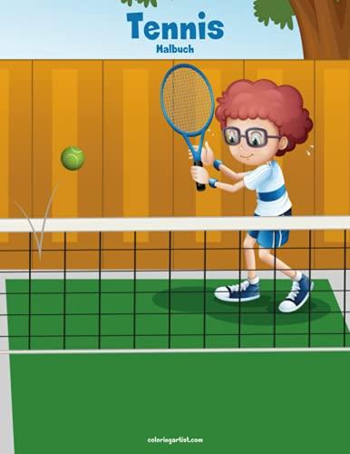 Tennis-Malbuch 1