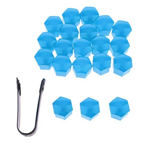 Homyl Boulon De Couvercle Nur De Couverture De Vis De Moyeu Automatique - Bleu