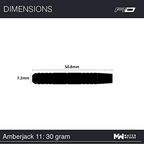 Red Dragon Amberjack 11 Steeldarts, 30g - 7