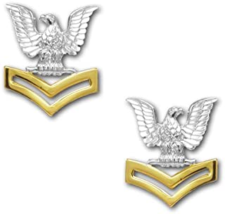 Vanguard Navy Coat Device Second Class Petty Officer E5 Good Conduct