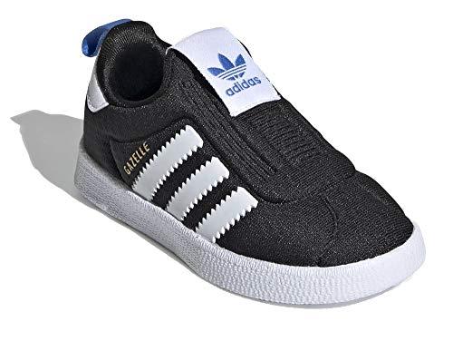 adidas Niño Gazelle 360 I Zapatillas Negro, 20