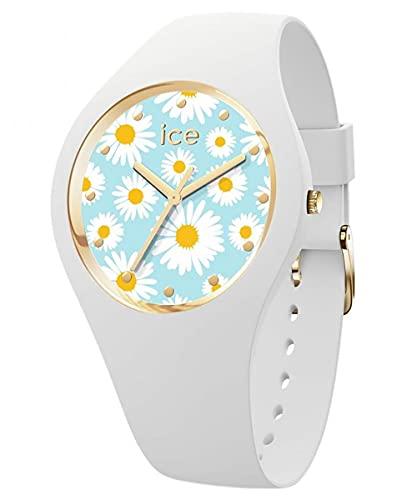 Ice-Watch Reloj de pulsera Ice Flower S blanco/margarita 019203
