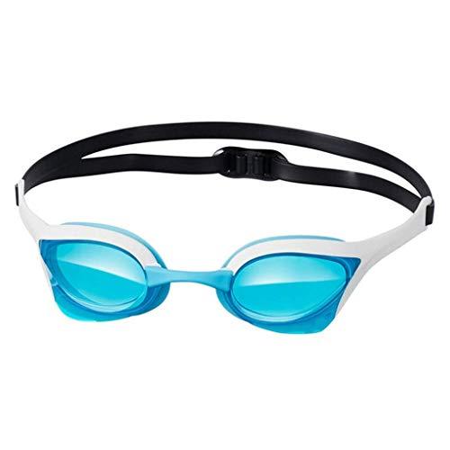 JBP max zwembril voor mannen en vrouwen, professionele wedstrijd, waterdicht en anti-condens-zwembrillen, comfortabele zwembril, roze
