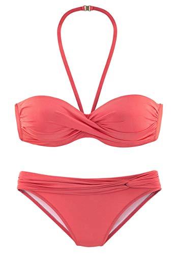Lascana Damen Bügel-Bandeau-Bikini