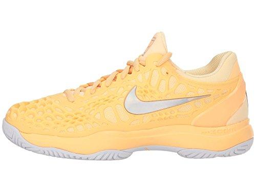 Nike, Damen Tennisschuhe, Pink - Lachsfarben - Größe: 38,5 EU