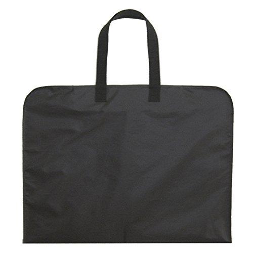ガーメントバッグ お洋服 スーツ 喪服 ドレス 収納カバーキャリーバッグ 3つ折りタイプ 持ち運び用