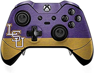 Skinit Decal Gaming Skin for Xbox One Elite Controller - Officially Licensed College LSU Split Design