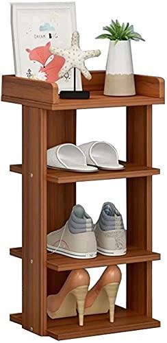 GAOLILI Baúl Puff Taburete Zapato de Almacenamiento Banco de Almacenamiento Multi-Capa Organizador de Zapatos Estante de Zapato Estante Resistente Zapato Estante Easy Monte (Color : B)
