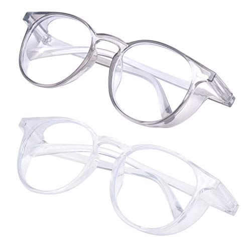 Outray 2 Pack Safety Glasses Goggles Anti Fog Anti Pollen Eye Goggles Safety Protection for Men