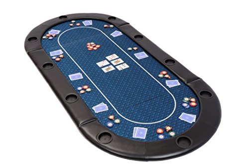 Riverboat Gaming Clásico Tablero de póquer Plegable - Mesa de Poker en...