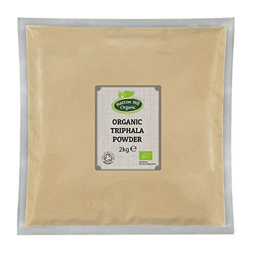 Hatton Hill Organic Triphala Powder 2kg - Certified Organic