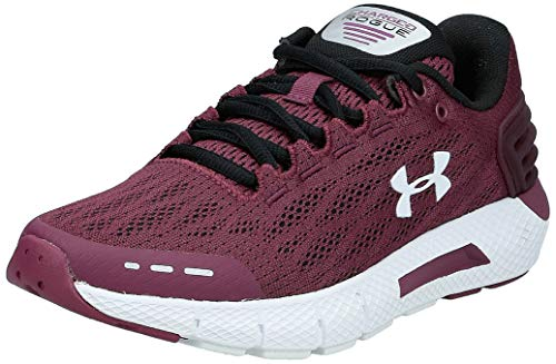 Under Armour Women's Charged Rogue Running Shoe, Level Purple (501)/Black, 9