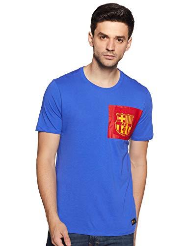 Nike Fcb M Nk Tee Crest Camiseta de Manga Corta Fc Barcelona,...