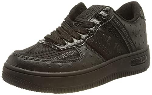 Replay Damen Epic-Atlantic Sneaker, 003 Black, 35 EU