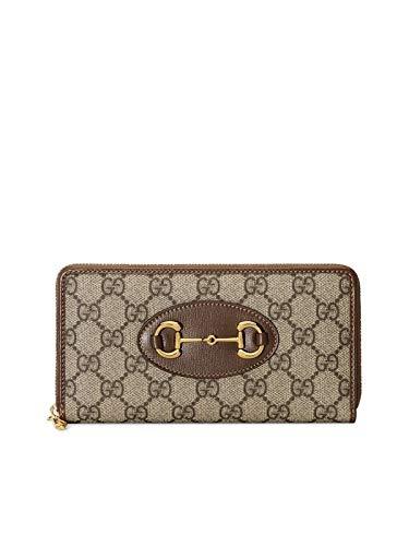 Luxury Fashion | Gucci Dames 62188992TCG8563 Bruin Polyurethaan Portemonnees | Lente-zomer 20