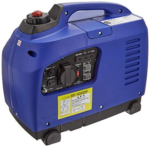 BPC(ビーピーシー) インバーター発電機 定格出力 0.9kVA ブルー 災害 非常時 キャンプ アウトドアの電源に SF-1000F 909906