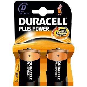 Duracell dUR019171 Alkaline 1,5 V Non-Rechargeable Battery – Non-Rechargeable Batteries (Alkaline, Cylindrical, d)