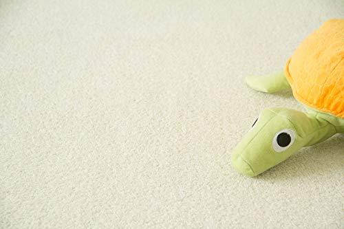 Steffensmeier Teppichboden Cambridge Young Meterware | Auslegware für Kinderzimmer Wohnzimmer Schlafzimmer | Creme, Größe: 300x600 cm