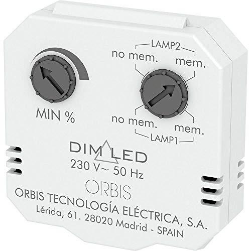 Orbis Regulador de Luminosidad Dimer Dim Led