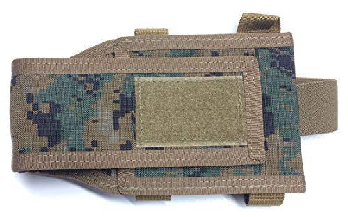 Fire Force M16 Fixed Stock Buttstock Mag Pouch Made in USA (MARPAT Woodland)