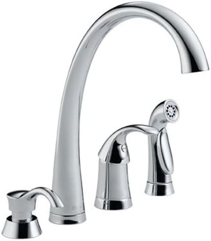Delta Faucet 4380-SD-DST, 3.00 x 14.00 x 20.00 inches, Chrome