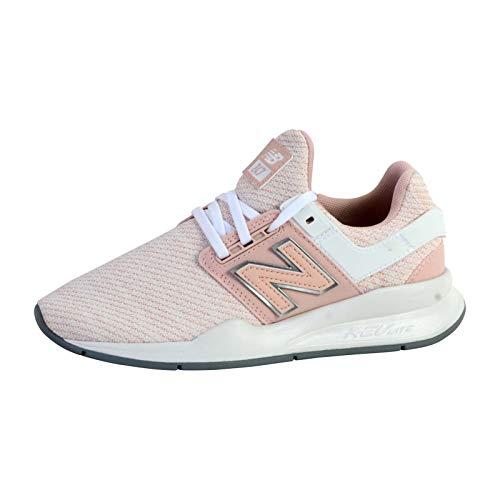 New Balance Damen 247v2 d Sneaker, Oyster Pink Weiß, 40.5 EU