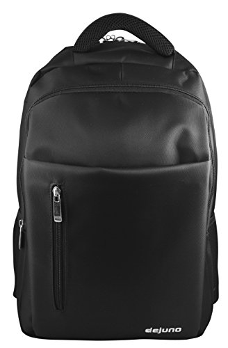 Dejuno Ez Check Point 16' Laptop Backpack / Business Travel Carry on Laptop Tablet Backpack (Black -212)