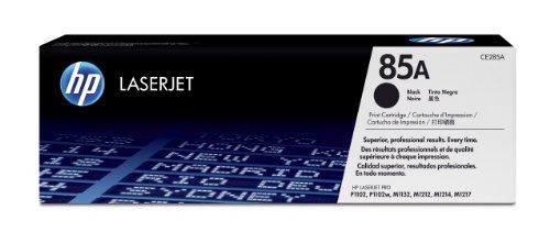 HP cartucho de tóner de repuesto compatible para HP CE285A (negro, Paquete de 1)
