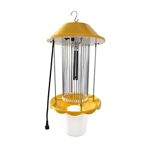 MRSGG Moskitolampe nach Hause, Wechselstrom-Insektizidlampe, Frequenzvibrations-Insektizidlampe, landwirtschaftliche Spezialinsektenfallenlampe, 4500 V, 15 W / 18 W, Lichtsteuerung, Regenkontrolle