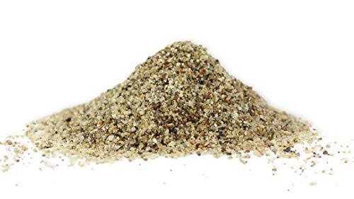 Retne Natur Grau Quarzsand Aquarium Bodengrund Sand 0,6-1,2 mm (5kg, Sand 0,6-1,2mm)