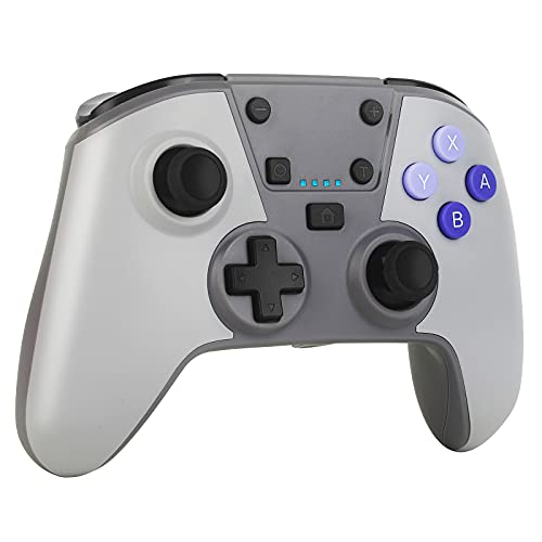 ELYCO Switch Controller, Wireless Switch Pro Controller mit Präzise Bewegungssteuerung/6-Gyro-Achse/Turbo Funktion/13 Std Spieldauer, Controller Switch Zubehör für Switch/Lite Konsole