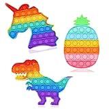 AZY Pop Fidget Toy Push Bubble Sensory, Push It's Toy for Kids Stress - Relief -Autism Learning...
