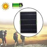 Panel Solar Flexible Panel Solar Monocristalino De 10 Vatios para Cargar El Automóvil Camping Viaje Al Aire Libre RV, Barco, Cabina, Tienda De Campaña