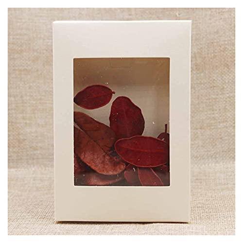 CAETNY Caixa de Presente DIY Vintage Paper Kraft Gift Box Pacote de bolo...