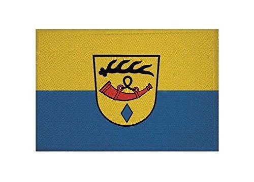 U24 Aufnäher Nürtingen Fahne Flagge Aufbügler Patch 9 x 6 cm