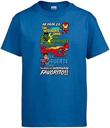Camiseta papá tu Eres mi superhéroe Favorito