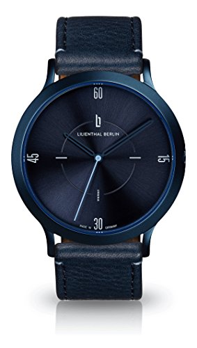 Lilienthal Berlin Urbania All Blue | Unisex Armbanduhr in Blau | Made...