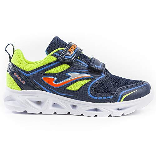 Apolo Chaussures de sport pour enfant avec lumières LED - Bleu - bleu, 25 EU EU