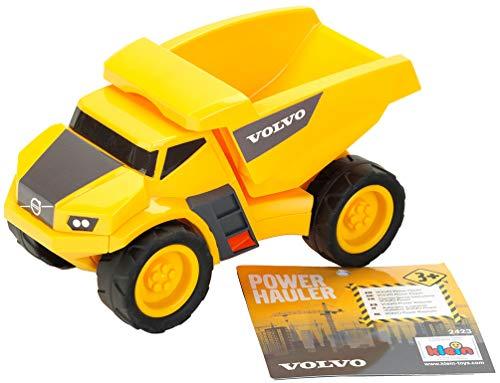 Theo Klein 2423 Volvo Power Kipper, Maßstab 1:24, HT 2423-Volvo, Spielzeug, gelb