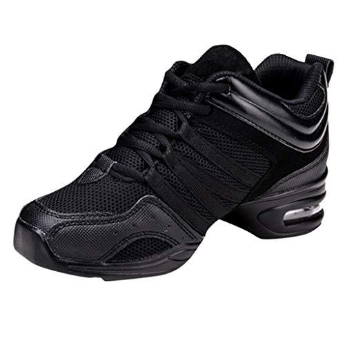 DAIFINEY Damen Sneaker Sportlicher Schnürer Leichte Modische Turnschuhe Sportschuhe Schüler Freizeit Atmungsaktiv Laufschuhe Outdoor Schuhe Slip On Bequeme Sohlen(Z-Schwarz/Black,39)