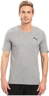 (プーマ) PUMA メンズTシャツ Iconic V-Neck Tee Medium Gray Heather SM S [並行輸入品]