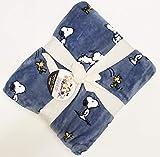 Berkshire Blanket & Home Co. Peanuts Snoopy Throw Blanket 55' x 70' Soft Plush Throw