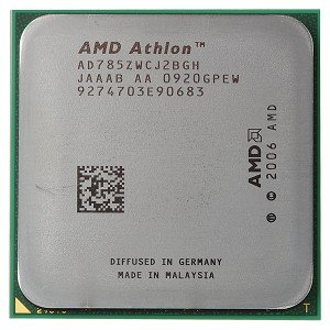 AMD Athlon X2 7850 2.8GHz 2x512KB Socket AM2+ Dual-Core CPU