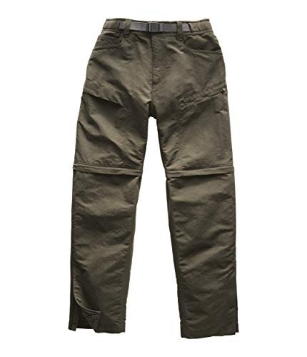 The North Face Men's Paramount Trail Convertible Pant, New Taupe Green, 32, REG